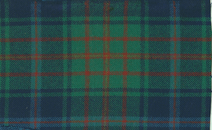 Sample of Bay of Quinte tartan