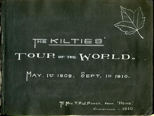 Front cover of Kilties photo album.